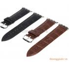Dây đồng hồ Apple Watch 42mm (da bò, dập vân cá sấu)