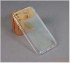 Ốp lưng silicone cho Samsung Galaxy M20 (ốp trong suốt hiệu Aolibao)