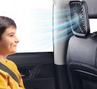 Quạt gắn lưng hàng ghế trước trên ô tô, xe hơi Baseus LV507