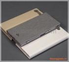 Bao da Sony Xperia XZ Premium flip leather case, hiệu Vili