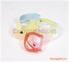Dây đeo tay thay thế cho Mi Band 3 (dây cao su, màu sắc và nhìn xuyên thấu)