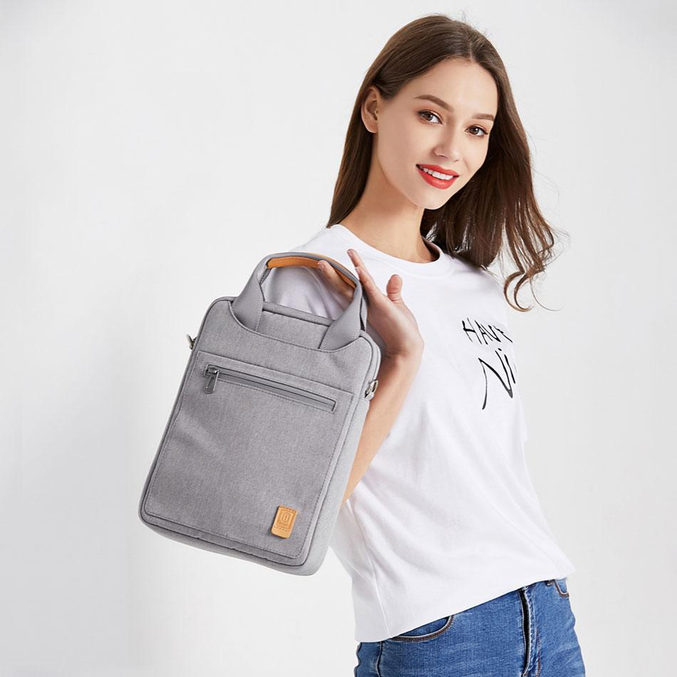 Túi cầm tay, đeo chéo 11 inch, phù hợp cho iPad 11 Pro 9.7 10.5, Wiwu Tablet bag