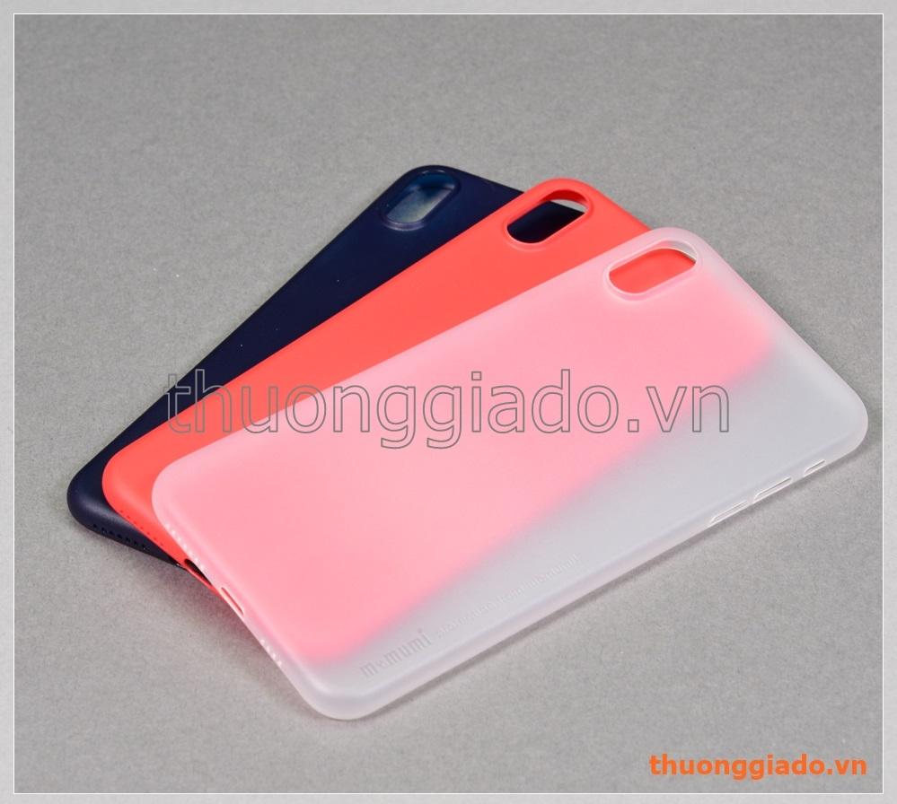 """Ốp lưng iPhone Xs Max (6.5"""") nhựa cứng siêu mỏng, hiệu Memumi"""