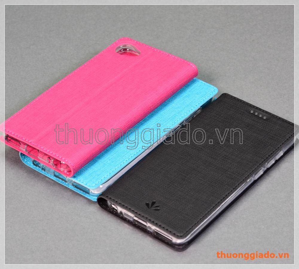 """Bao da HTC Desire 12 (5.5"""") flip leather case, hiệu Vili"""