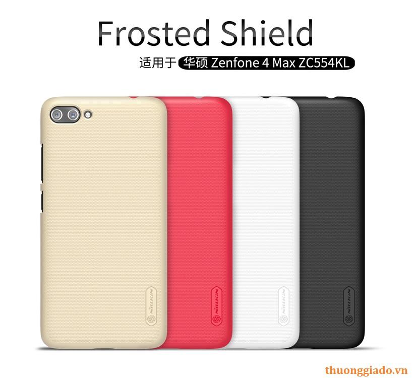 Ốp lưng sần NillKin cho Asus Zenfone 4 Max(ZC554KL) Super Frosted Shield