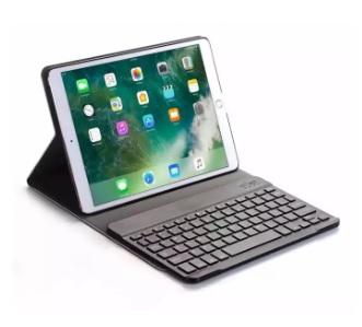 "Bàn phím bluetooth iPad 10.2"" 2019 kèm bao da flip cover"