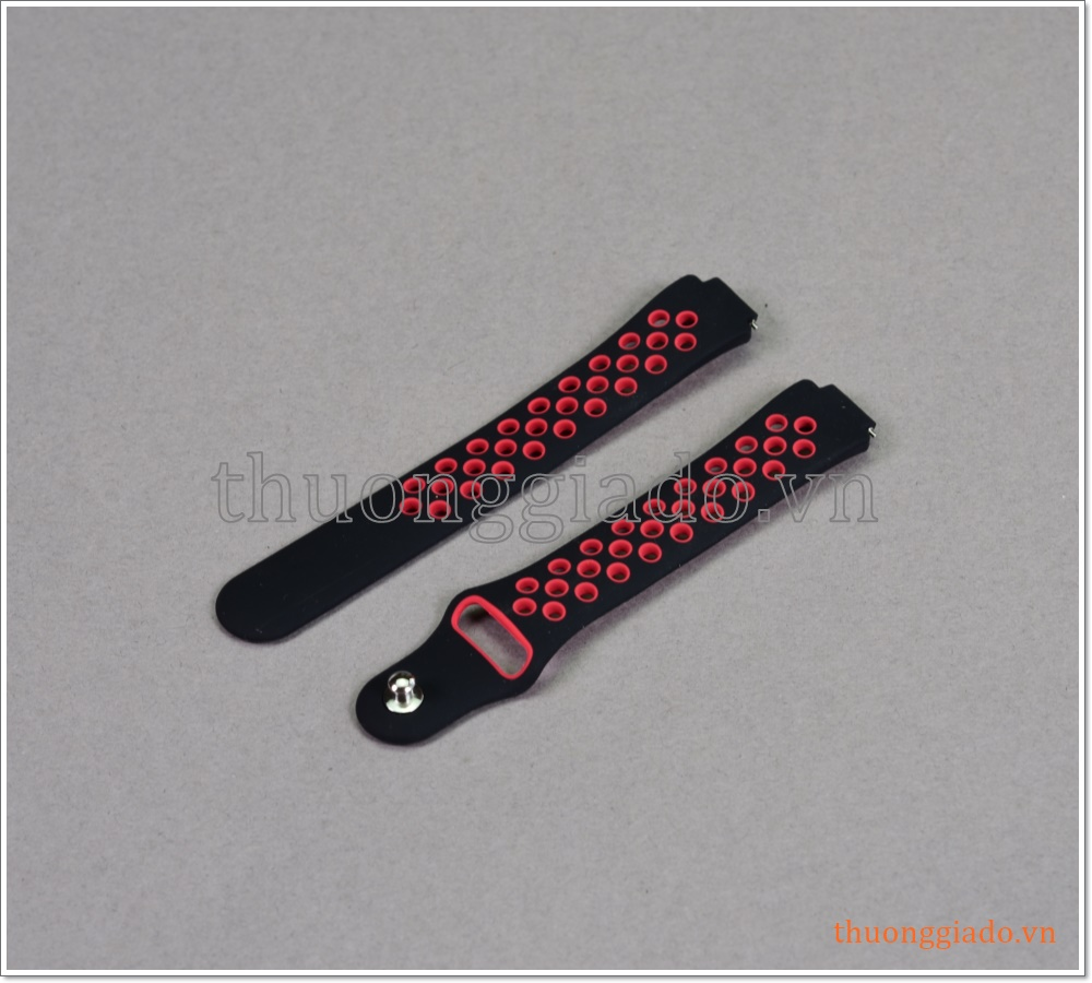 Dây thay thế vòng đeo tay Fitbit Inspire HR (dây cao su, Nike Edition)
