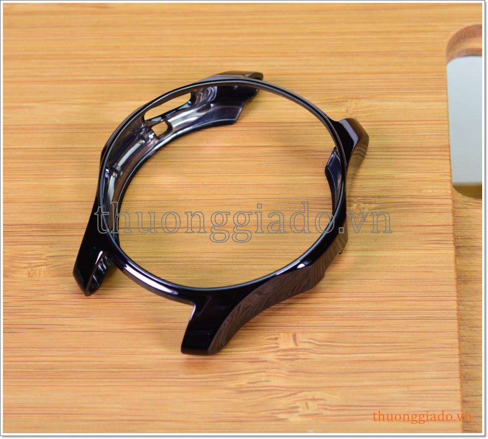 Ốp silicone Samsung Gear S3 Frontier, Gear S3 Classic, R760 (ốp đen bóng)