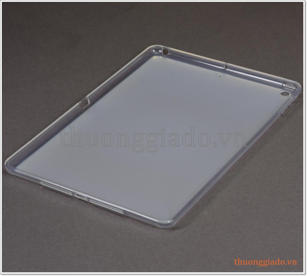 """Ốp lưng silicone Apple iPad 10.2"""" 2019 (viền trong lưng trắng đục)"""