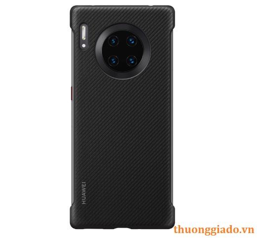 Ốp lưng Huawei Mate 30 Pro (hàng chính hãng), mặt ngoài vân carbon