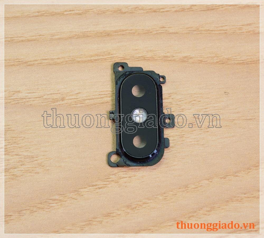 Thay kính camera sau Mi 8 SE kèm khung viền hợp kim và đèn flash