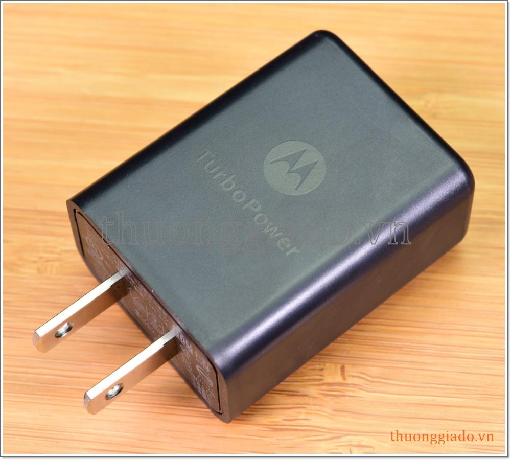 Củ sạc nhanh Motorola Turbo Power SC-22 (5V/3A, 9V/1.6A, 12V/1.2A)