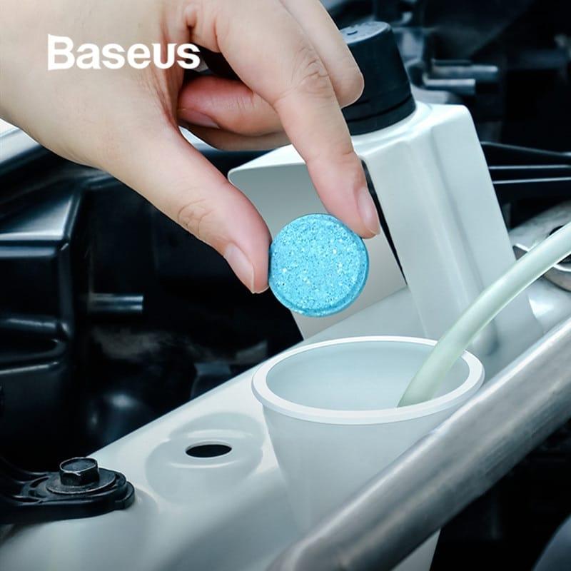 Hộp 12 viên sủi bọt lau chùi chuyên dụng kính chắn gió xe hơi (hiệu Baseus)