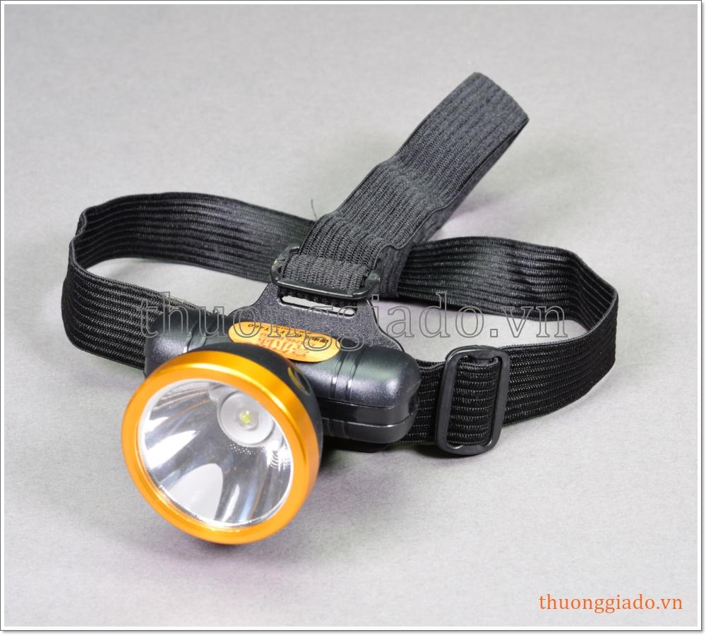 Đèn pin đeo đầu siêu sáng (pin sạc nhiều lần)