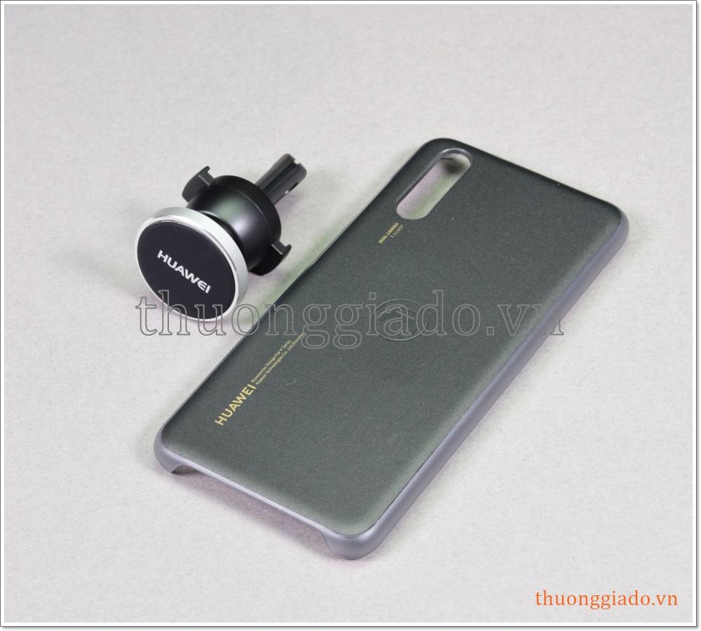 """Ốp lưng Huawei P20 (5.8"""") kèm đế hít từ tính giữ điện thoại trên ô tô"""