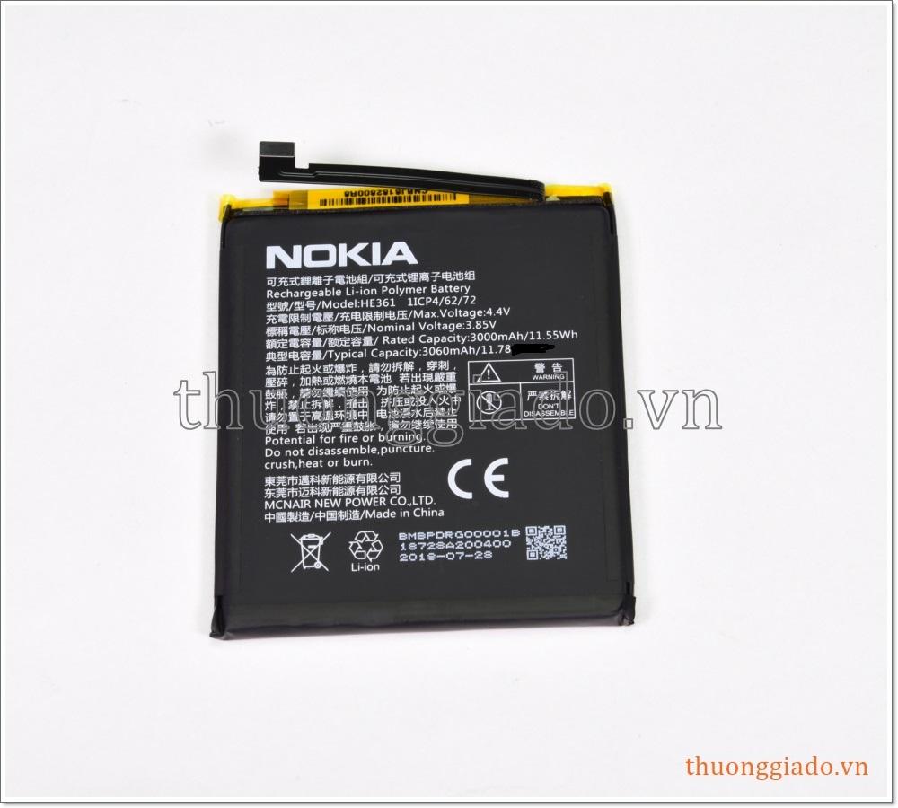 Pin Nokia HE361 (3000mAh, Li-ion Polymer)