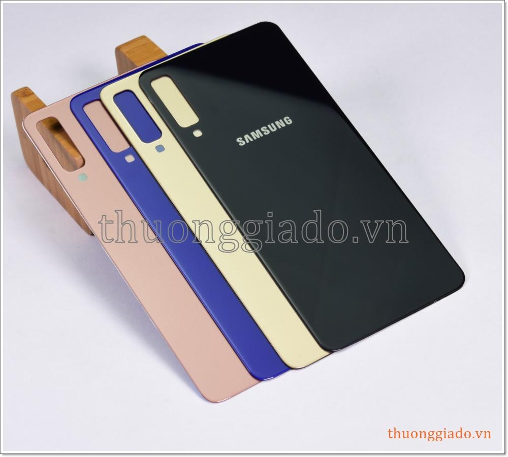 Thay kính lưng Samsung Galaxy A7 (2018), Samsung A750, thay nắp lưng lấy ngay