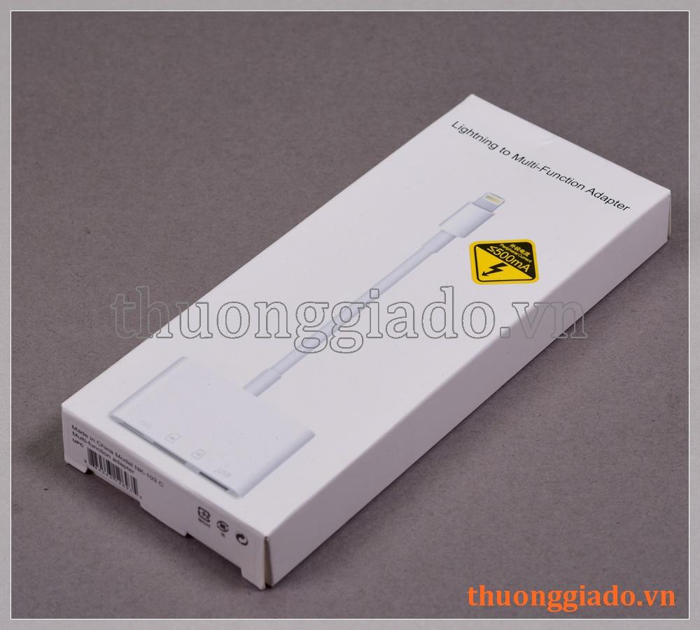 Lightning to multi-function adapter (Model: NK103C), 4 in 1