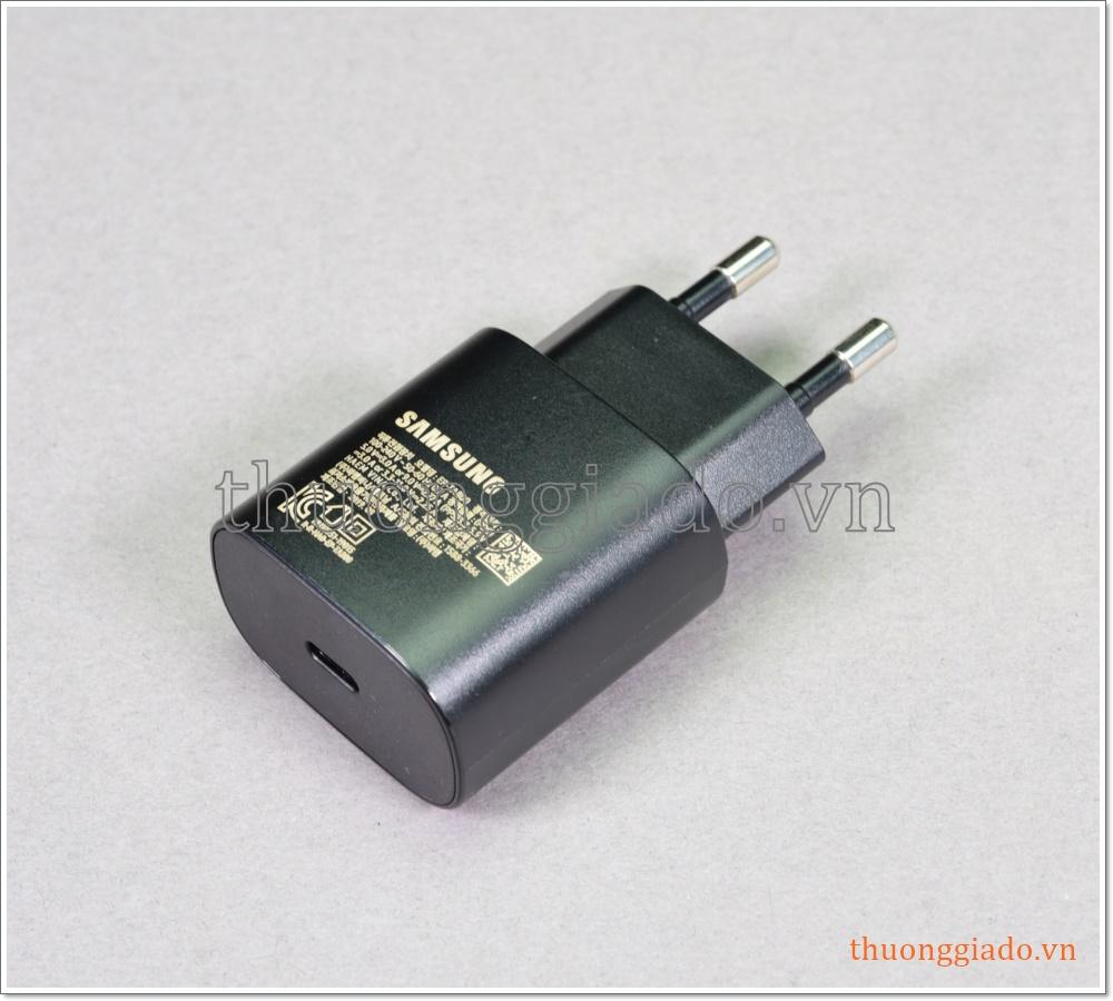 Củ sạc nhanh Samsung EP-TA800 Super Fast Charging (25W) cho Note 10 N970, Note 10+ N975