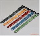 Dây đồng hồ Huawei Watch 1, Talkband B5, Talkband B3 (18mm), dây da bò, nhiều màu sắc