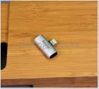 Đầu chuyển đổi 1 ra 2 cổng lightning (Baseus L46),hỗ trợ tai nghe+sạc