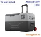 Tủ lạnh ô tô Alpicool CX40 (40 lít, DC12V/24V/220V, kết nối App, làm lạnh -20 độ C)