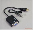 Cáp chuyển đổi HDMI ra VGA (cổng dương)