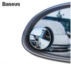 Bộ 02 gương cầu lồi chiếu hậu xóa điểm mù xe hơi 360 độ siêu mỏng Baseus