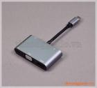 Cáp chuyển đổi USB Type-C sang HDMI/VGA/USB 3.0/PD+AUDIO (5 trong 1)