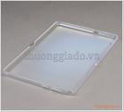 Ốp lưng silicone Huawei Mediapad T3 9.6 inch (ốp dẻo lưng màu trắng mờ đục)