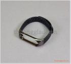 Dây thay thế vòng đeo tay Mi Band 4/ Mi Band 3 (viền hợp kim, dây cao su vân carbon)