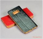 Bao da Samsung Galaxy S8 - G950, bao da cầm tay, chất liệu da bò thật