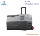 Tủ lạnh ô tô Alpicool CX30 (30 lít, DC12V/24V/220V, kết nối App, làm lạnh -20 độ C)