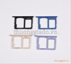 Khay sim Samsung Galaxy A6+, Samsung A605, khay sim 2 kèm ngăn đựng thẻ nhớ