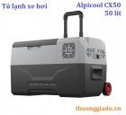 Tủ lạnh ô tô Alpicool CX50 (50 lít, DC12V/24V/220V, kết nối App, làm lạnh -20 độ C)