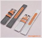 Dây đồng hồ 20mm cho Samsung Gear S2 Classic, Galaxy Watch Active (dây vải+da)
