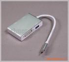 Cáp chuyển đổi usb type-c sang HDMI/DVI/VGA/USB 3.0 (4 trong 1)