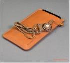 """Bao da đeo cổ iPhone 11 Pro (5.8 inch), iPhone XS (5.8""""), chất liệu da bò hiệu G-CASE"""