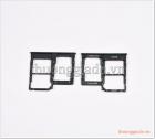 Khay sim Samsung Galaxy A40, nano sim, kèm ngăn đựng thẻ nhớ micro sd/ tf