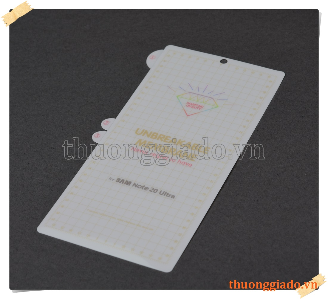 Samsung Galaxy Note 20 Ultra SM-N985 - Miếng dán màn hình Hydrogel TPU, mỏng 0.15mm