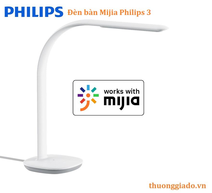 Đèn bàn thông minh Xiaomi Mijia Philips 3 màu trắng