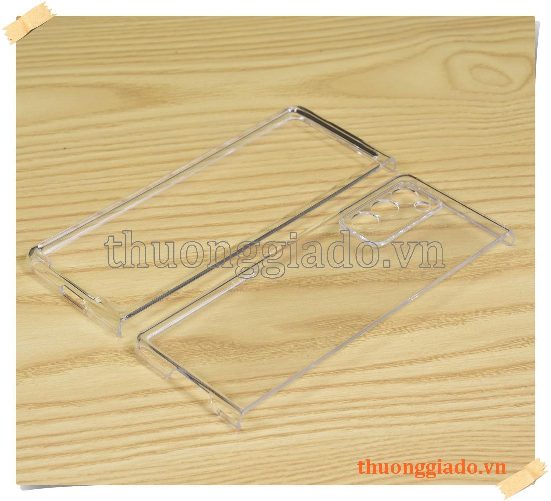 Ốp nhựa trong suốt cho Samsung Galaxy Z Fold 2 SM-F910/F916