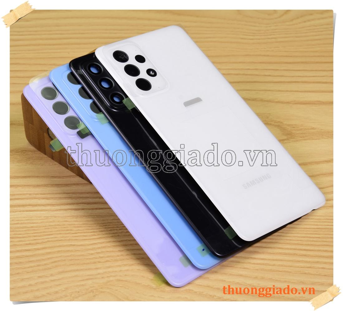 Samsung Galaxy A72 - Thay nắp lưng (nắp đậy pin) chính hãng kèm kính camera sau