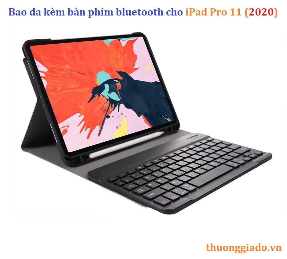 iPad Pro 11 (2020) - Bao da kèm bàn phím bluetooth