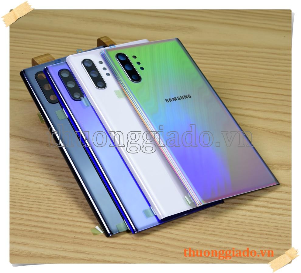 Thay kính lưng Samsung Galaxy Note 10+/ N975 (Hàng zin theo máy, kèm kính camera sau)