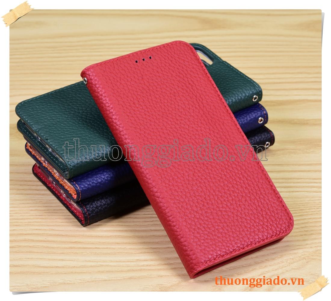 Bao da cầm tay iPhone 11 Pro Max (chất liệu da bò)