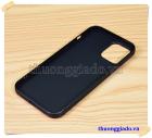 Ốp lưng silicone màu đen Vu Case cho iPhone 12 Pro Max