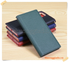 Bao da cầm tay iPhone 12 Pro Max (da bò) flip leather case