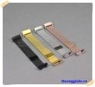 Dây đồng hồ Fitbit Charge 3, Charge 4 (dây mesh hợp kim mắt nhỏ, khóa hít nam châm)