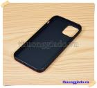 Ốp lưng silicone màu đen Vu Case cho iPhone 12 Pro (6.1 inch)